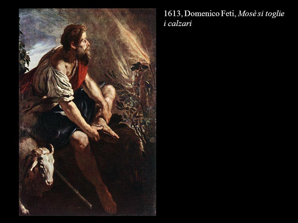 1613, Domenico Feti, Mosè si toglie i calzari