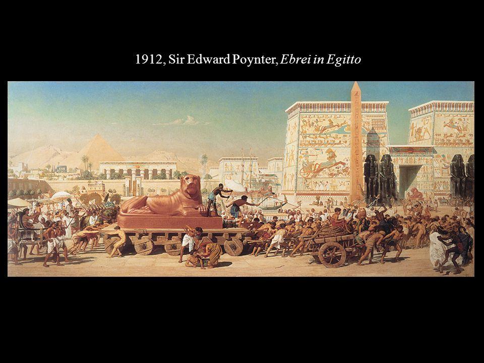 1912, Sir Edward Poynter, Ebrei in Egitto