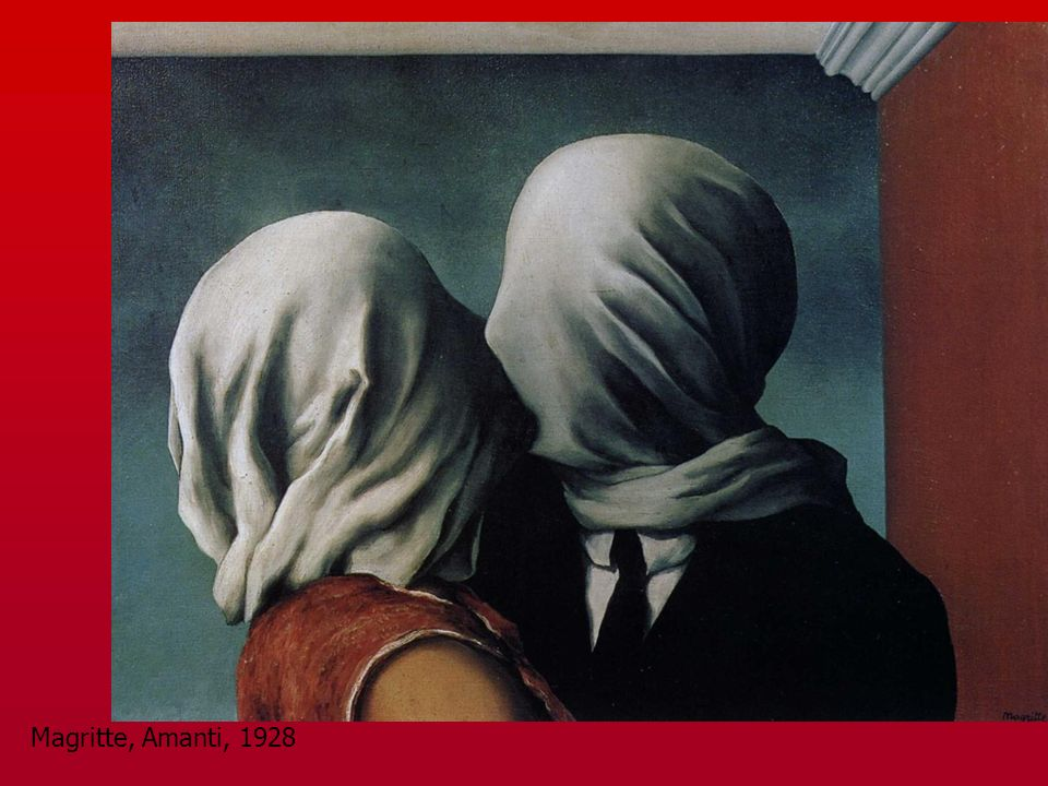 Magritte, Amanti, 1928