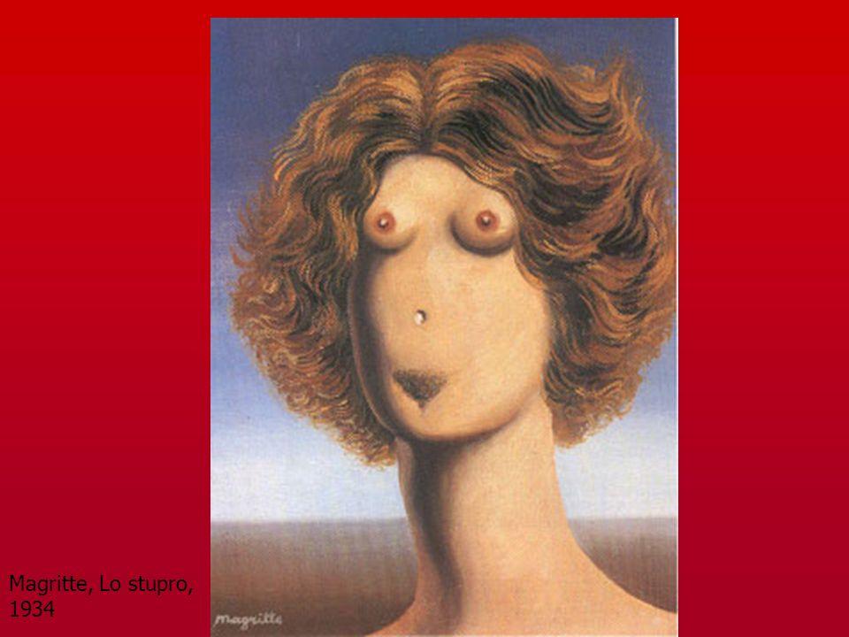 Magritte, Lo stupro, 1934