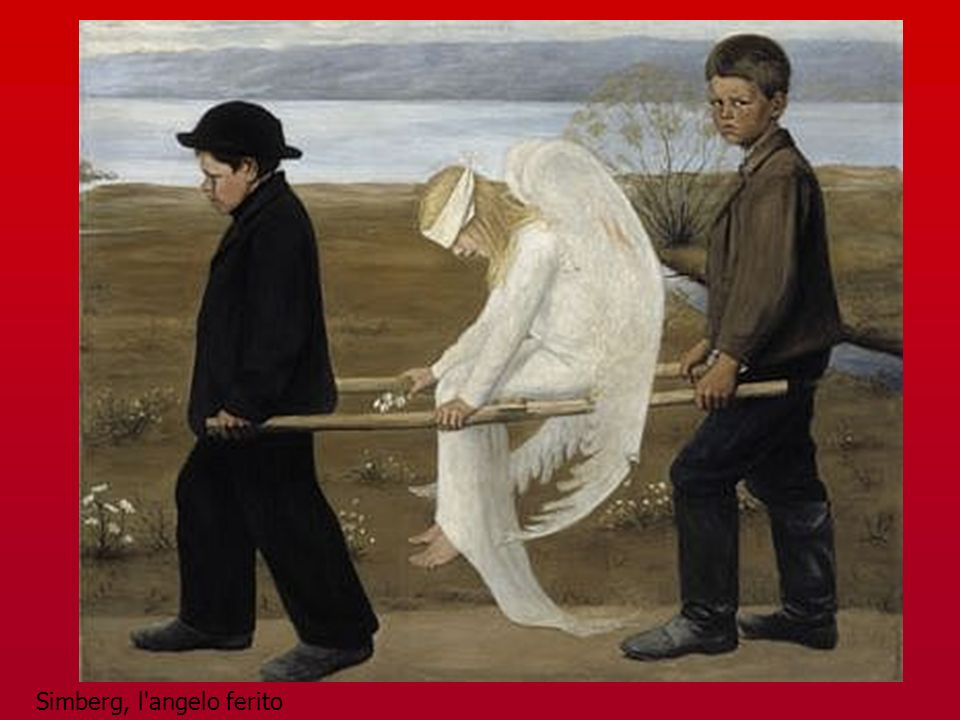 Simberg, l angelo ferito