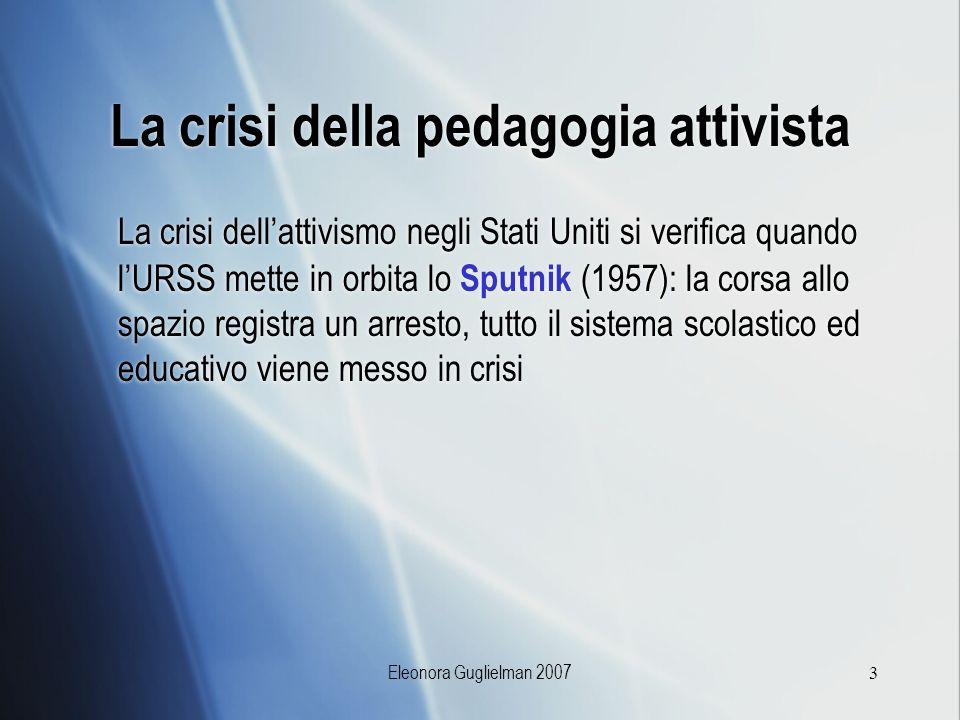 La crisi della pedagogia attivista