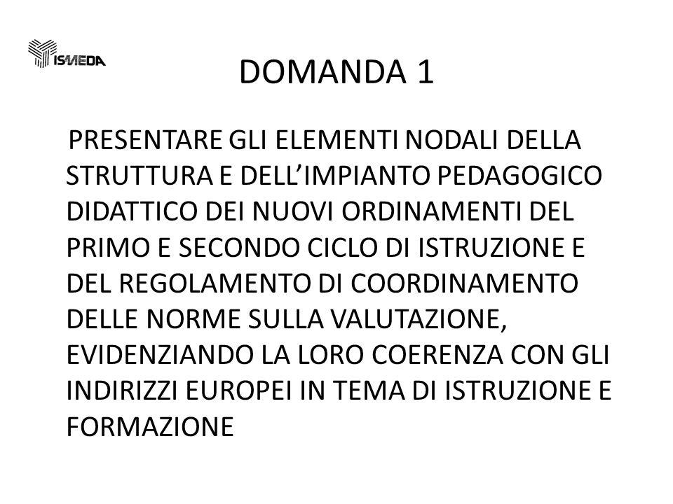 DOMANDA 1