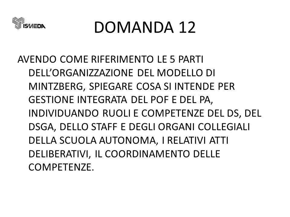 DOMANDA 12