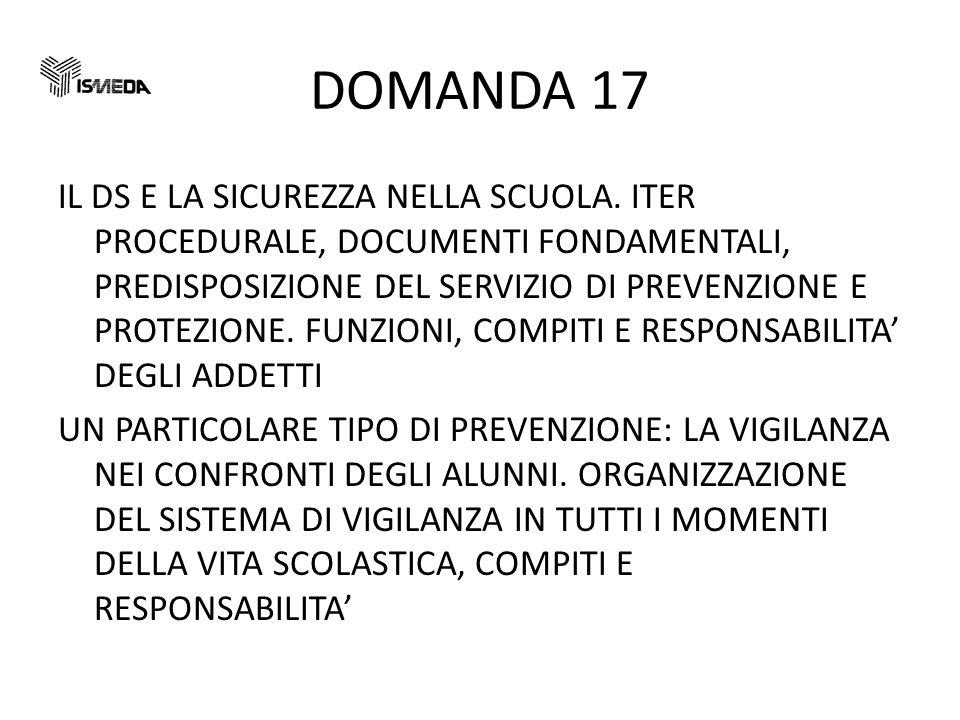DOMANDA 17