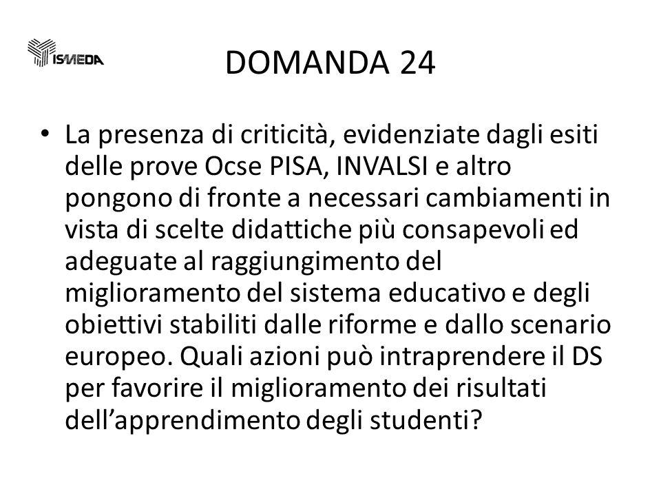 DOMANDA 24