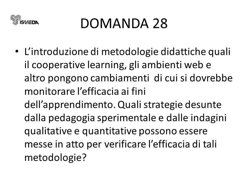 DOMANDA 28