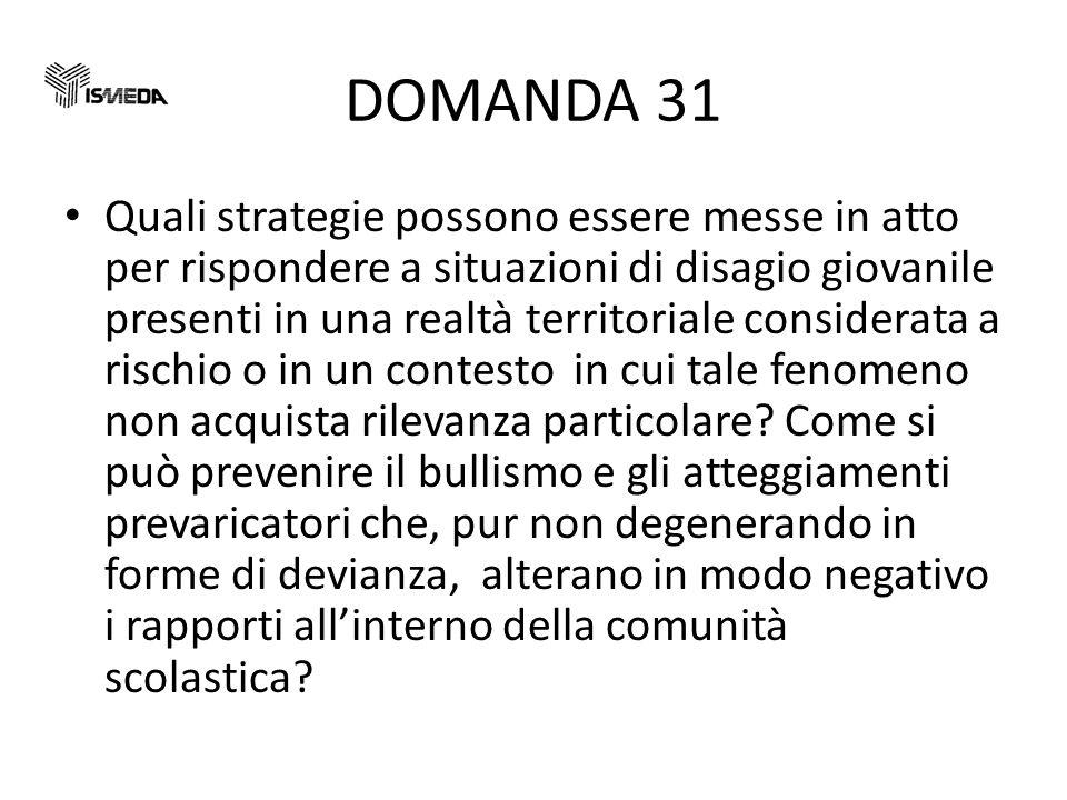 DOMANDA 31