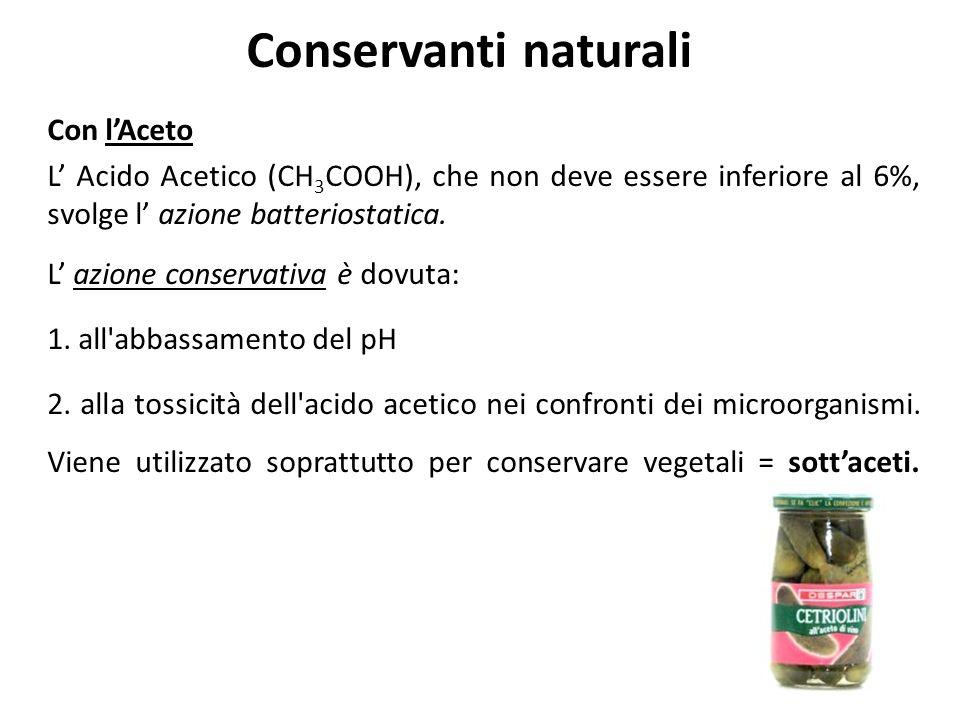 Conservanti naturali