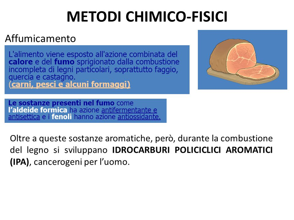 METODI CHIMICO-FISICI