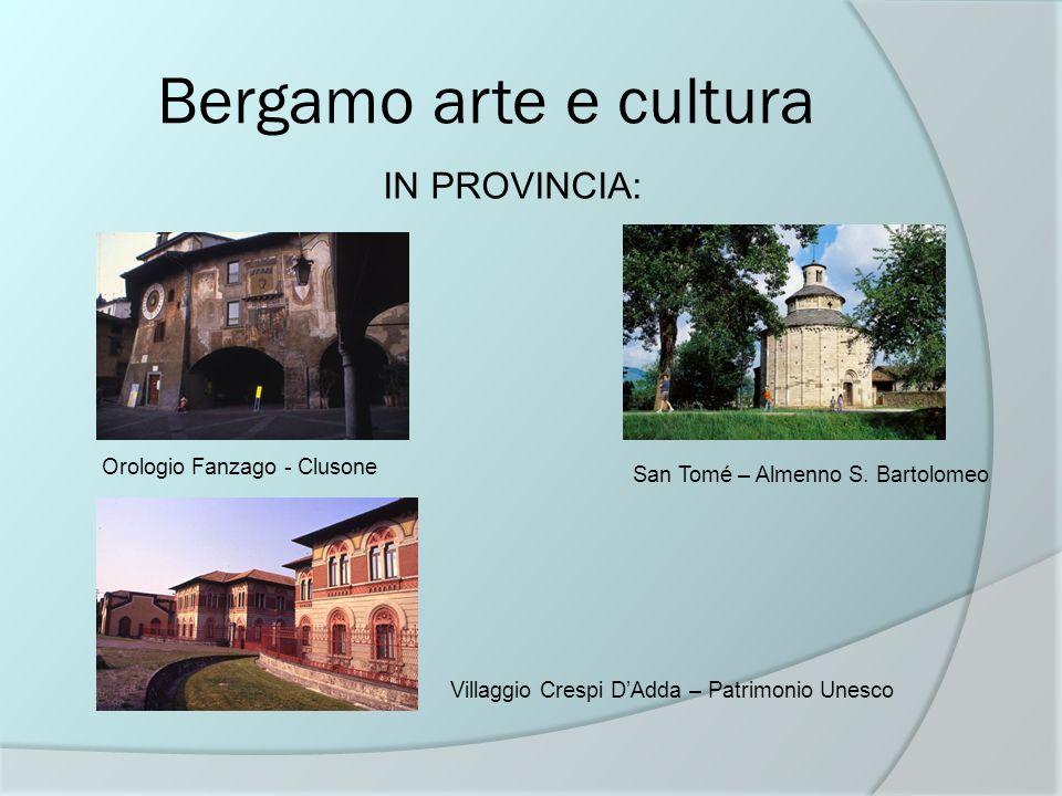 Bergamo arte e cultura IN PROVINCIA: Orologio Fanzago - Clusone