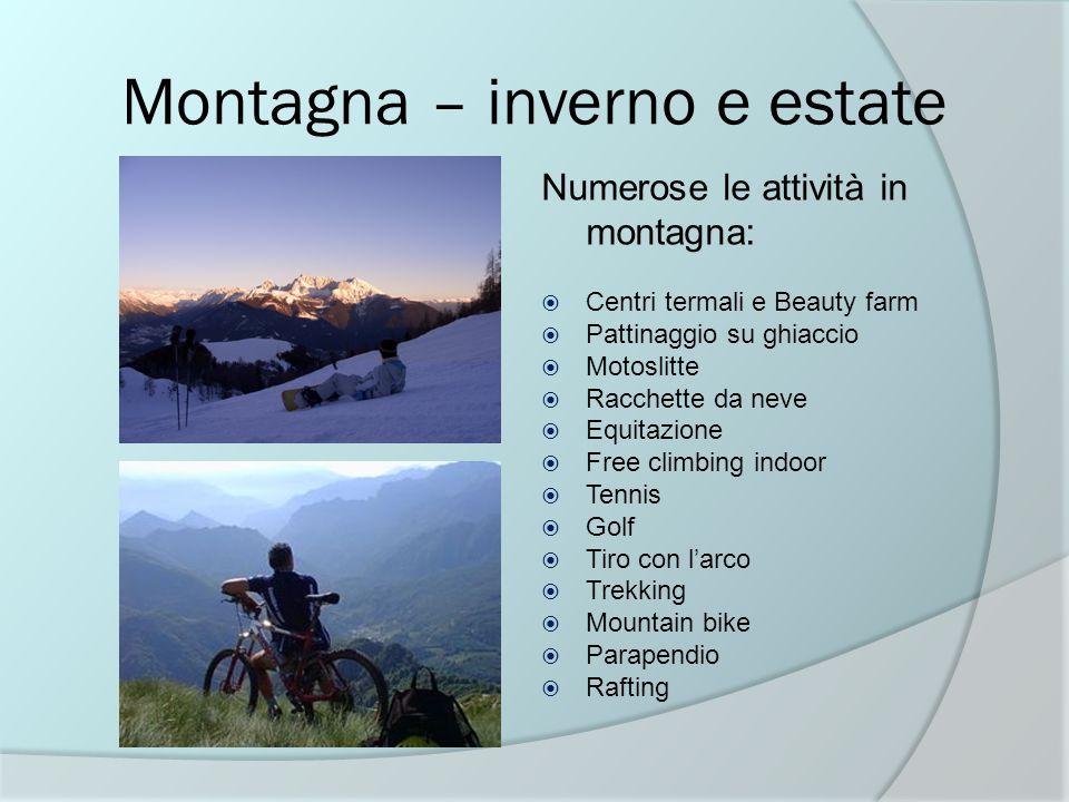 Montagna – inverno e estate