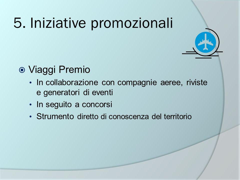 5. Iniziative promozionali