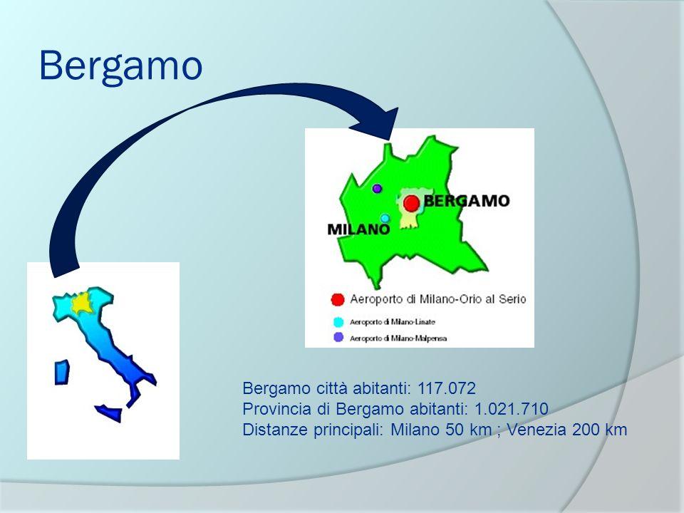 Bergamo Bergamo città abitanti: 117.072