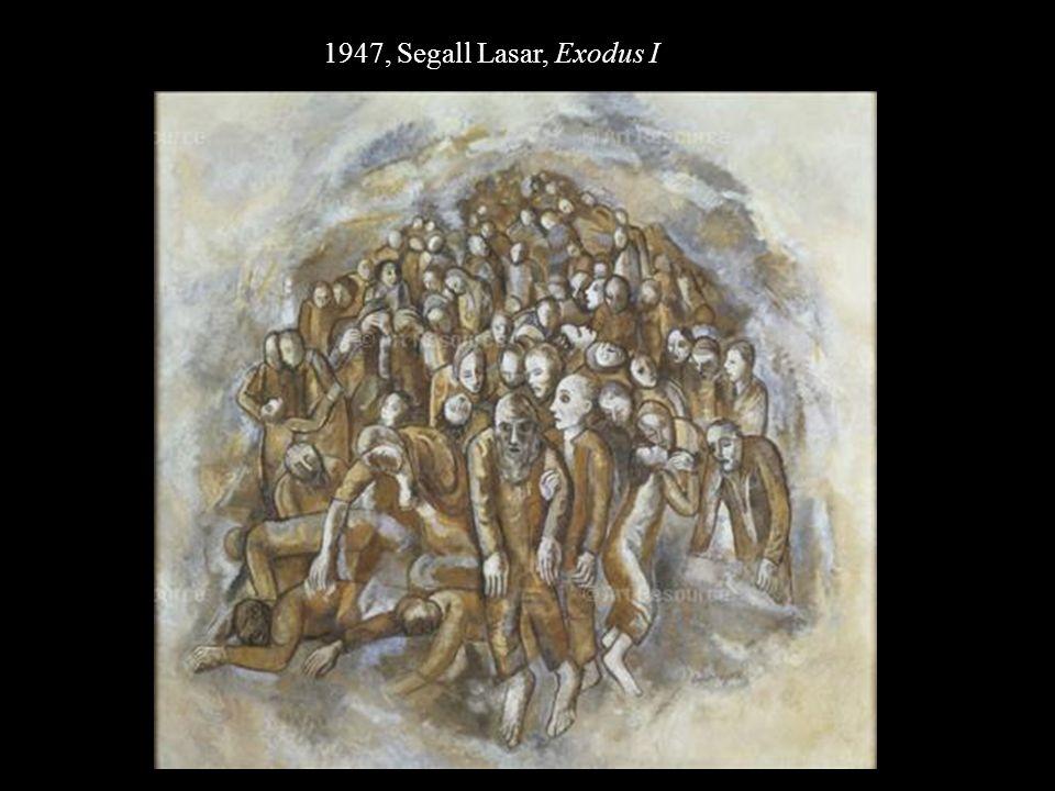 1947, Segall Lasar, Exodus I