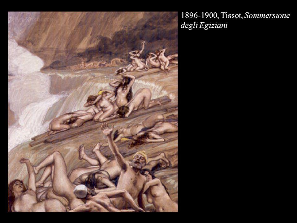 1896-1900, Tissot, Sommersione degli Egiziani
