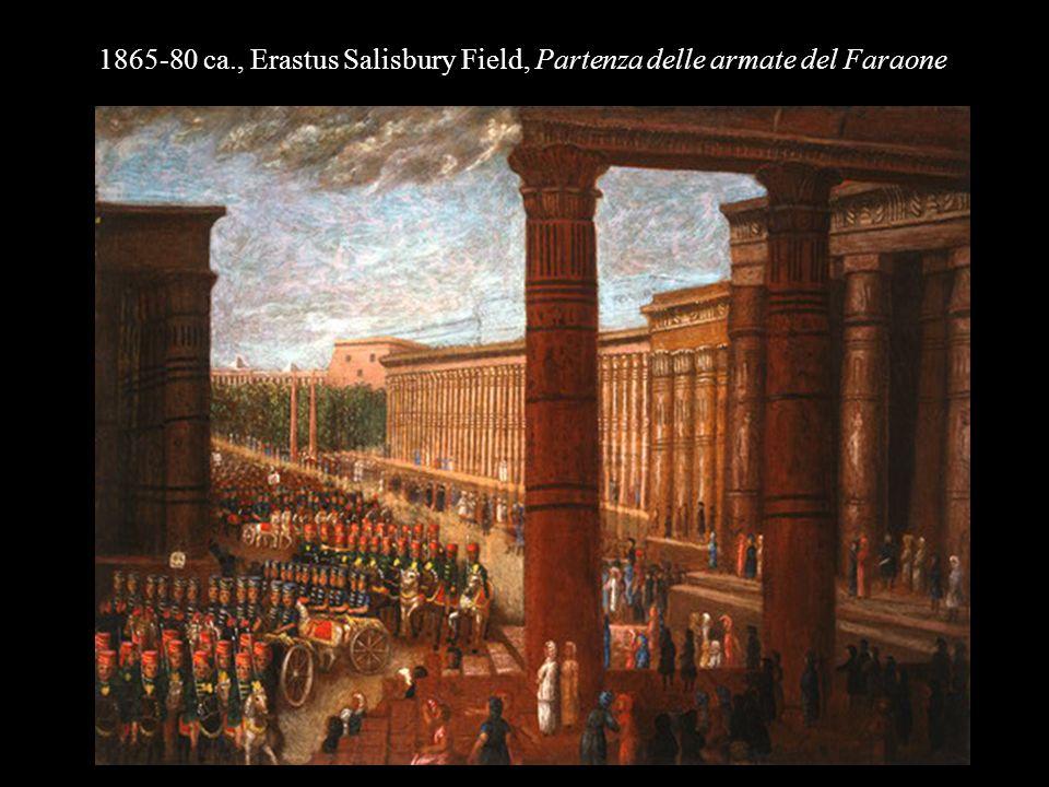 1865-80 ca., Erastus Salisbury Field, Partenza delle armate del Faraone