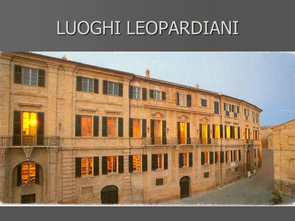 LUOGHI LEOPARDIANI