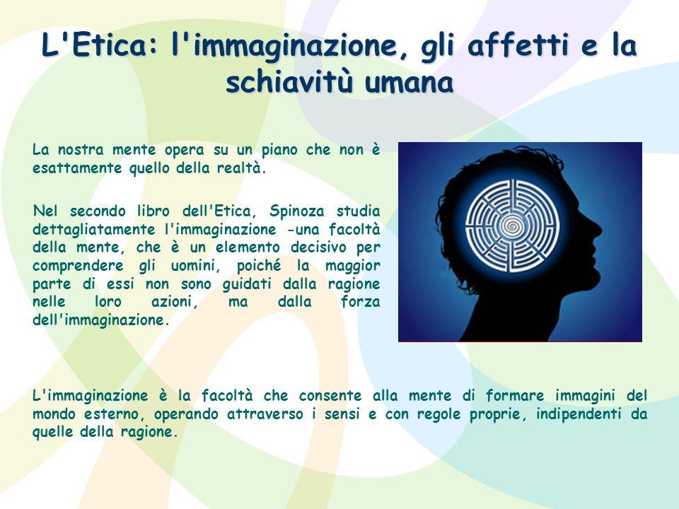 L Etica: l immaginazione, gli affetti e la schiavitù umana