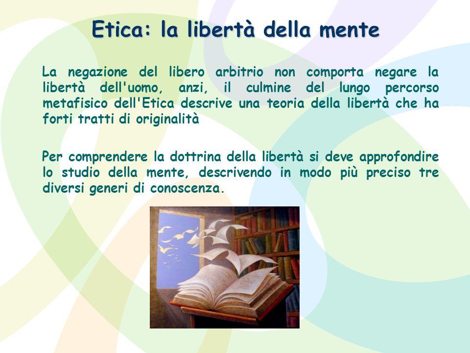 Etica: la libertà della mente