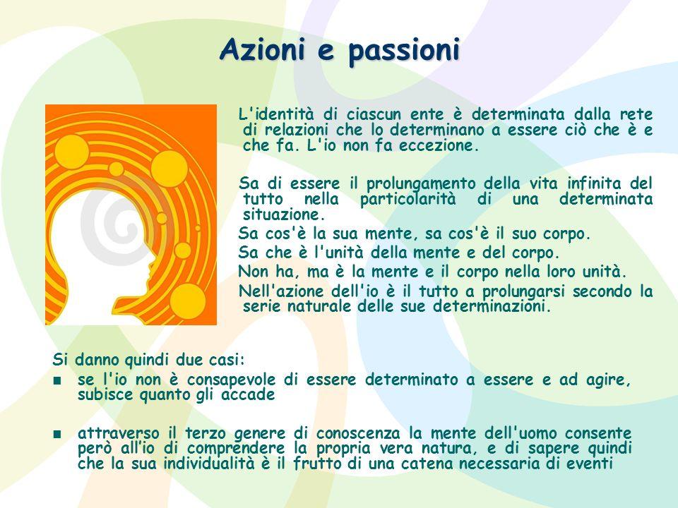 Azioni e passioni