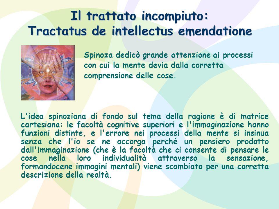 Il trattato incompiuto: Tractatus de intellectus emendatione