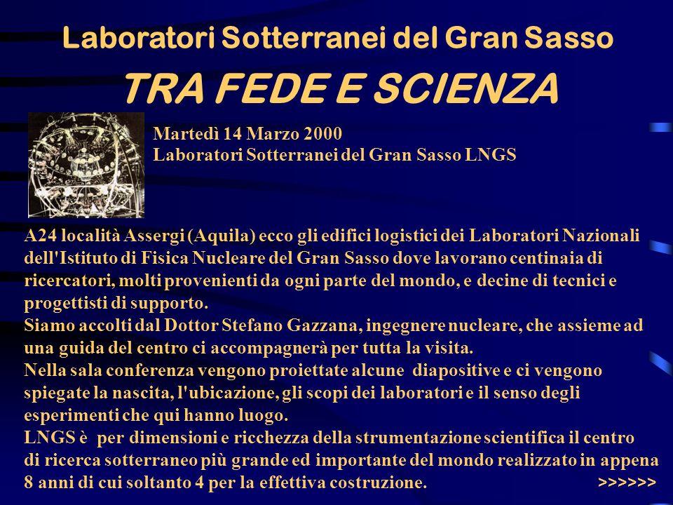Laboratori Sotterranei del Gran Sasso