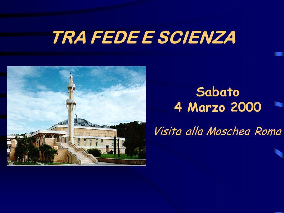 Visita alla Moschea Roma
