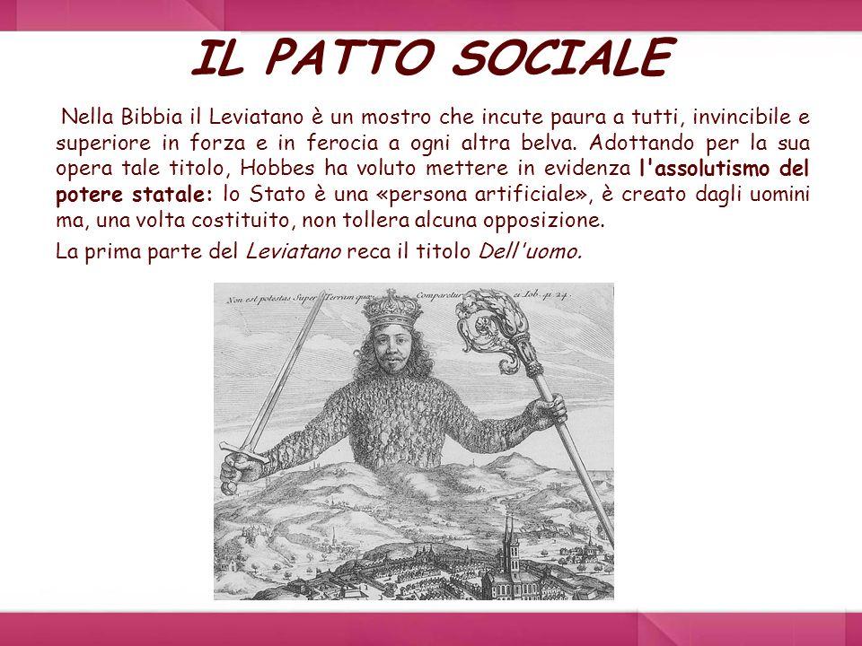 IL PATTO SOCIALE