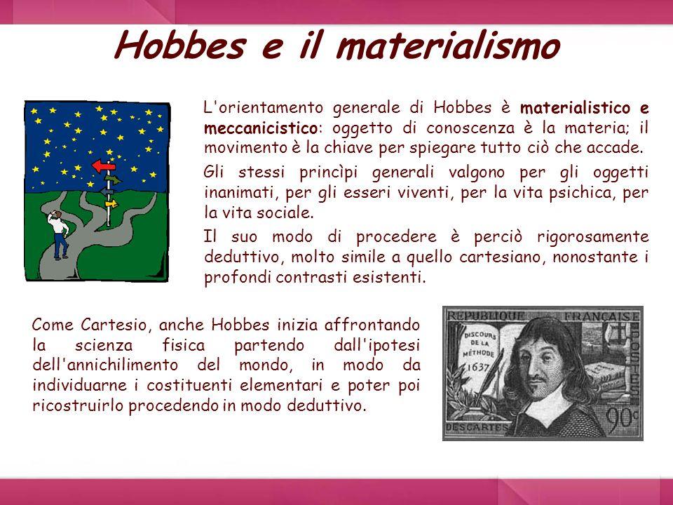 Hobbes e il materialismo