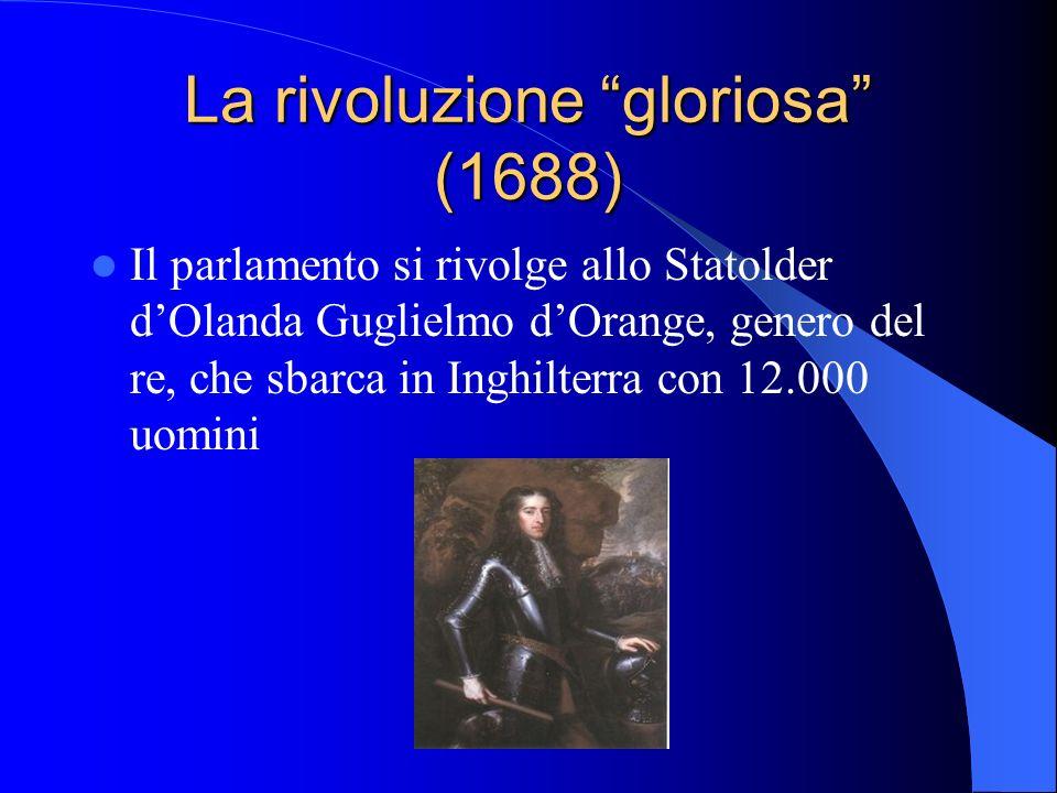 La rivoluzione gloriosa (1688)