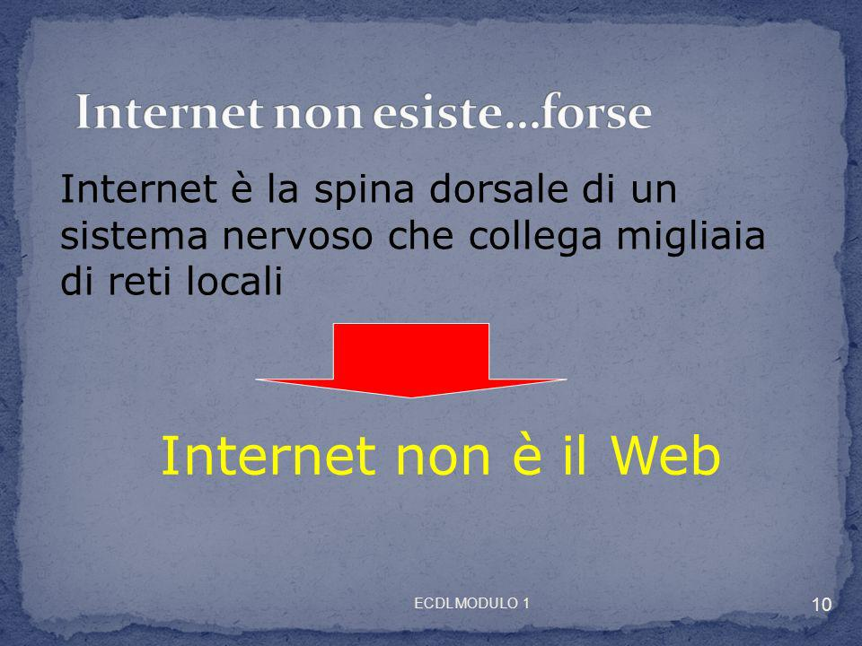 Internet non esiste…forse