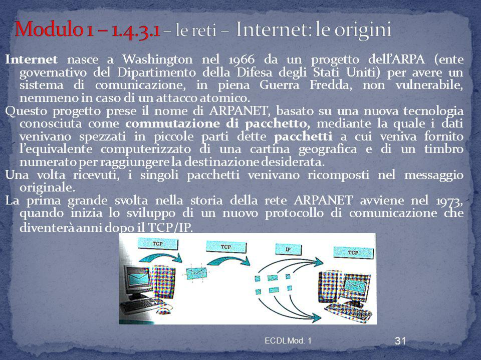 Modulo 1 le reti informatiche ppt scaricare for 2 pacchetti di garage di storia