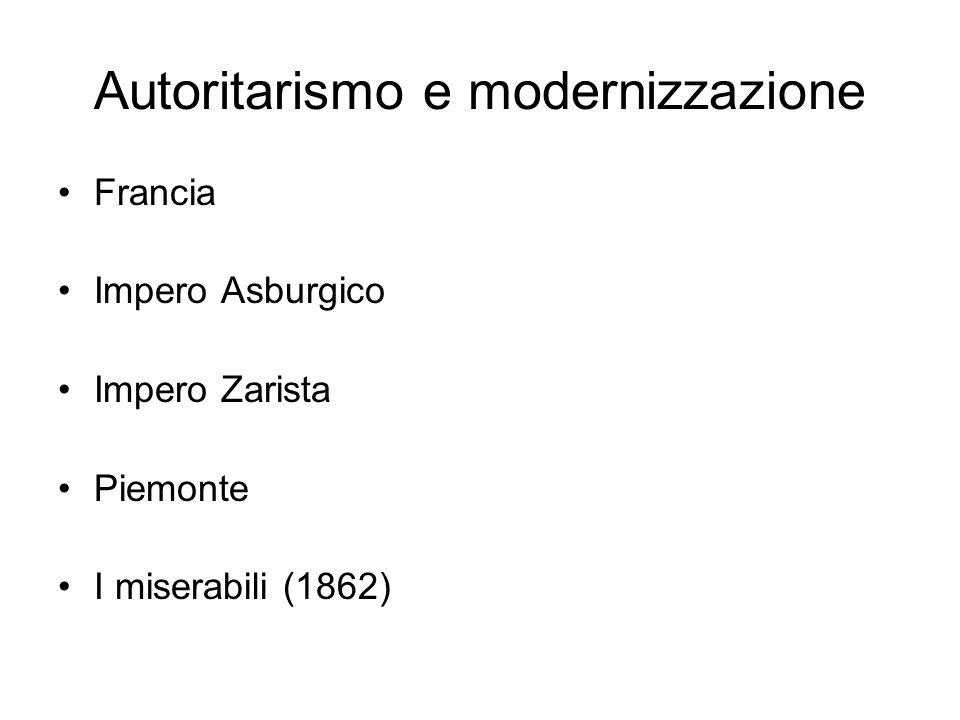 Autoritarismo e modernizzazione