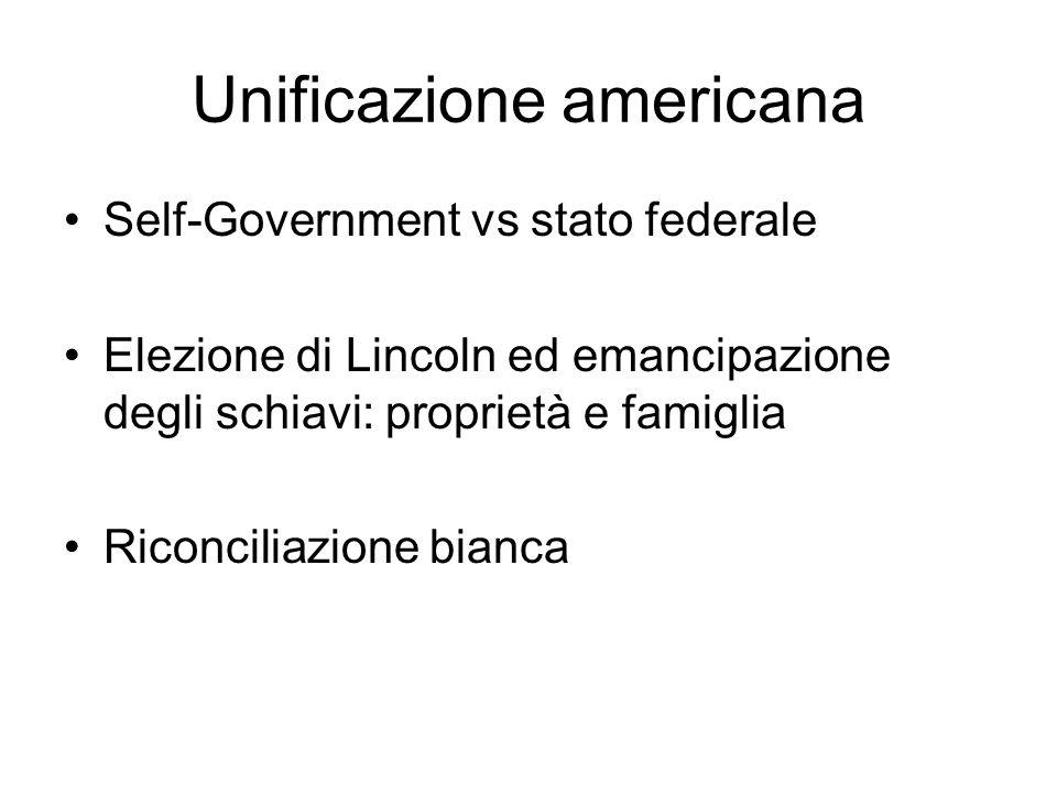 Unificazione americana