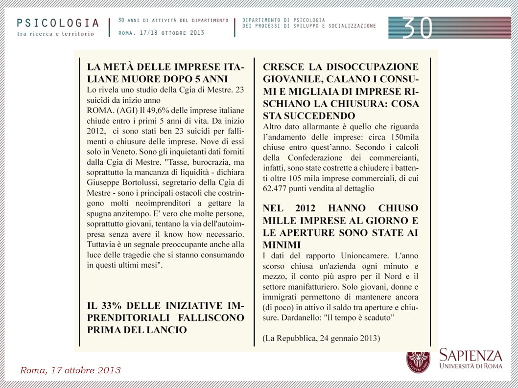 Roma, 17 ottobre 2013