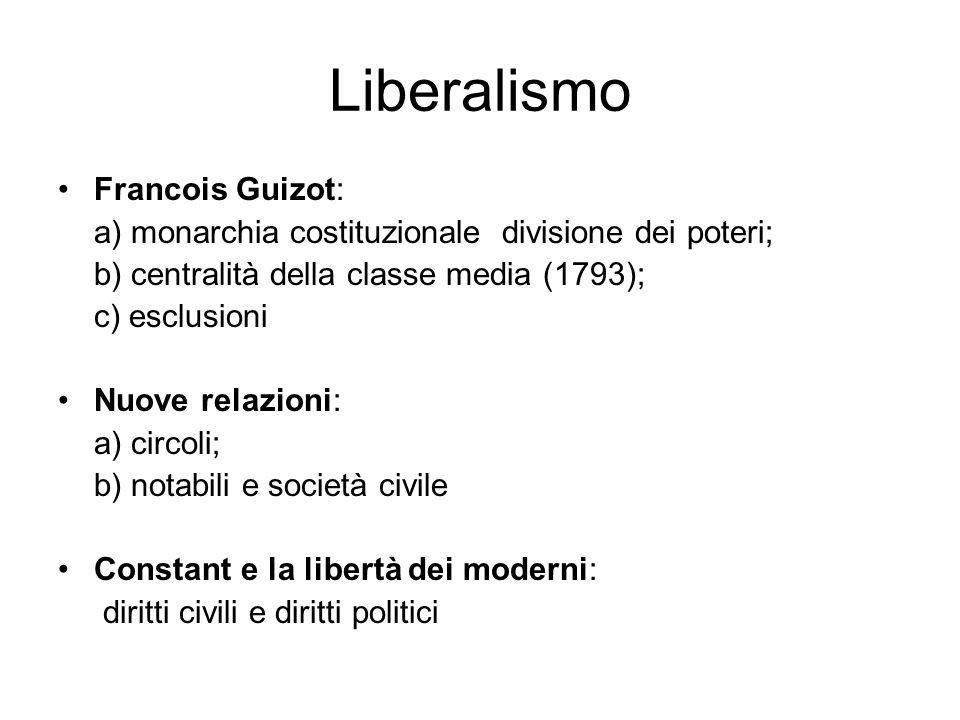 Liberalismo Francois Guizot:
