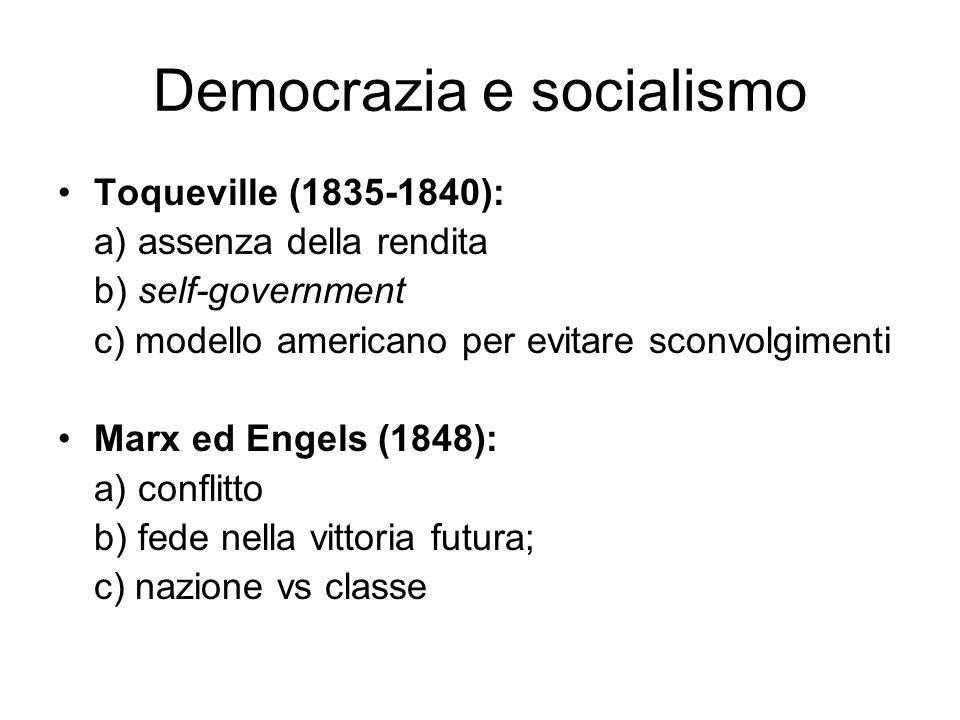 Democrazia e socialismo
