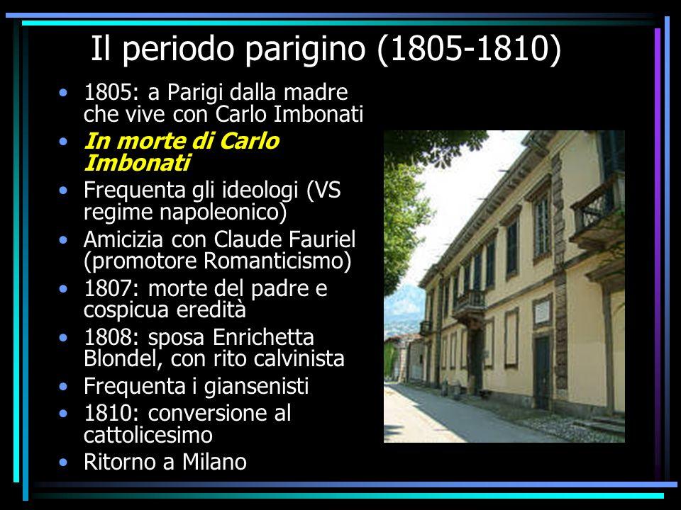 Il periodo parigino (1805-1810)