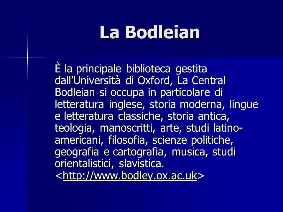 La Bodleian
