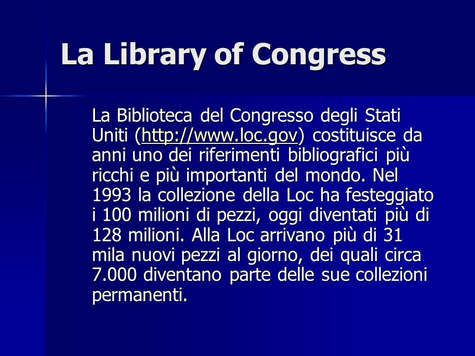 La Library of Congress