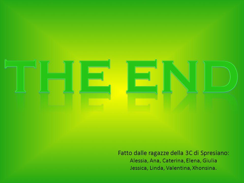 THE END Fatto dalle ragazze della 3C di Spresiano: