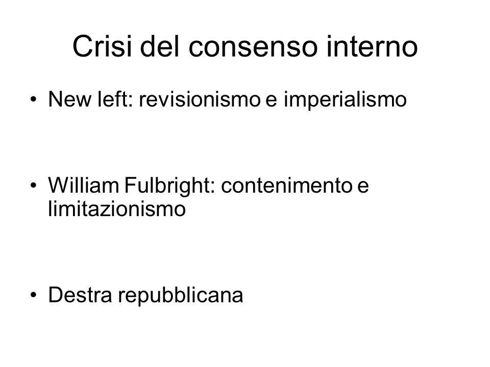 Crisi del consenso interno