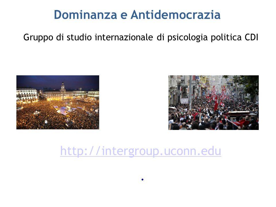Dominanza e Antidemocrazia