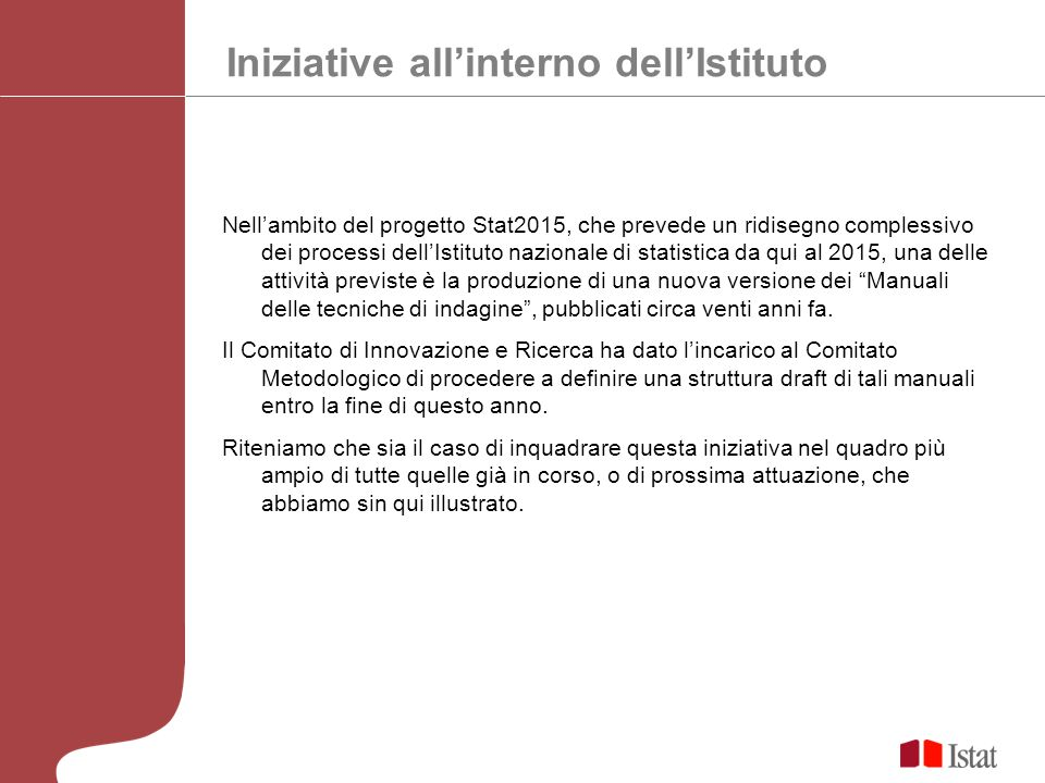 Iniziative all'interno dell'Istituto