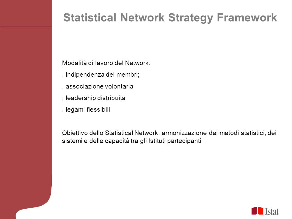 Statistical Network Strategy Framework
