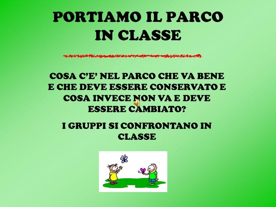 PORTIAMO IL PARCO IN CLASSE