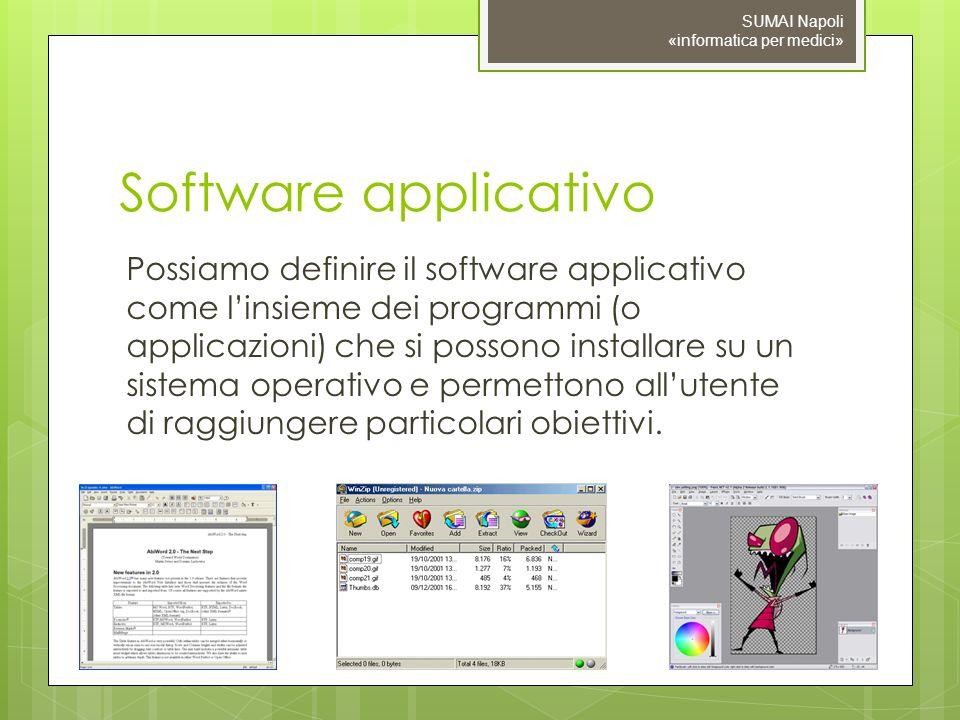 SUMAI Napoli «informatica per medici»