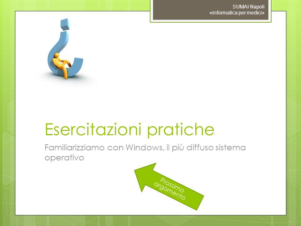 Esercitazioni pratiche