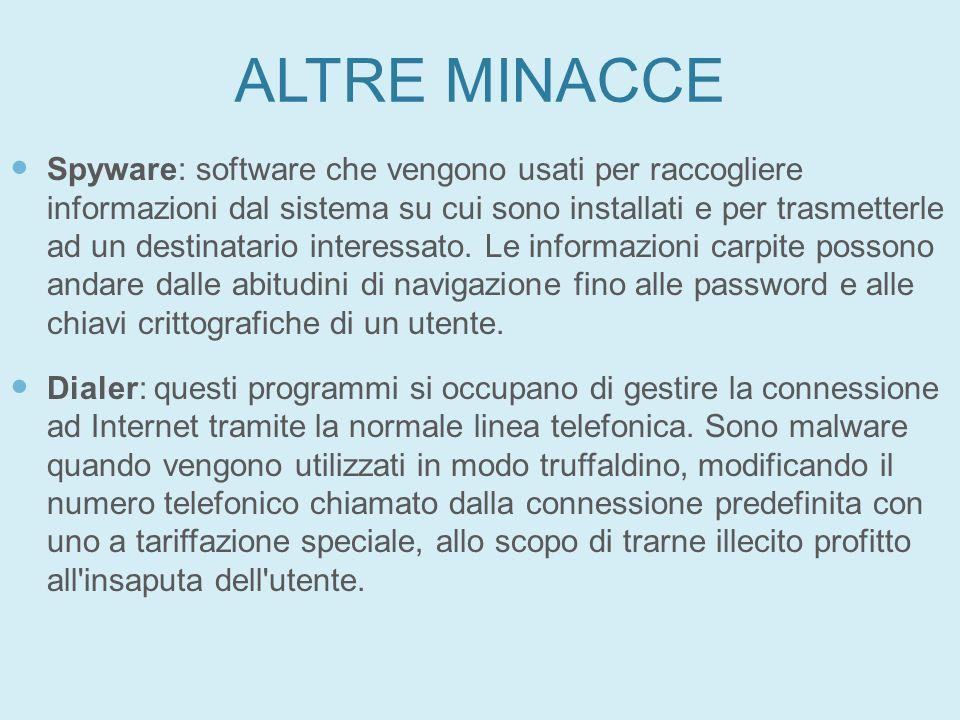 27/01/11 ALTRE MINACCE.